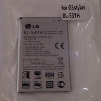 Battery Baterai Batre for LG G3 Stylus BL-53YH Original Limited