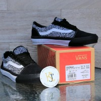 Terbaru Sepatu Vans Oldskool Leopard Waffle Dt