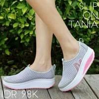 Women Shoes Slip On Tania Grey