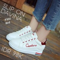 Women Shoes Slip On Davina Natural White