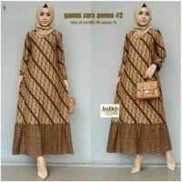 Gamis Batik Moderen/Gamis Zara Genes/Batik f3