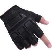 Jual Sarung Tangan Tactical Half Finger - Motor/Sepeda/Hiking/Outdoor Sport Murah