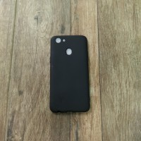 OPPO F5 Softcase Slim Black Matte Casematte Case Cover Hp