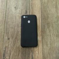 OPPO F5 Softcase Slim Black Matte Casematte Case Cover Hp