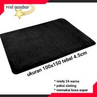 Karpet Bulu Lantai Permadani Minimalis Bulu Rasfur Halus 100x150x4.5cm