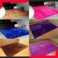 Karpet Bulu Lantai Permadani Minimalis Bulu Rasfur Halus 200x150 x1.5