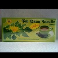 Teh Daun insulin ll yacon ll teh herbal diabetes ll isi 20 teabags