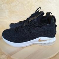 a8c2f2950fcf Nike LeBron 15 Low Black Gold. Premium Grade