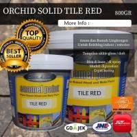 Cat Kayu Besi Terbaik Orchid Enamel Paint Solid - Tile Red