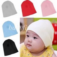 Harga best seller topi kupluk anak bayi balita rajut beanie baby hat  32c64b459b