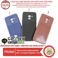 Murah Meriah Case Samsung A7 2018 Motif Brand Led Flash Softcase Hp