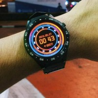 Jam Tangan Smartwatch Kw88 / Kingwear 88 Smart Watch Android Ios -