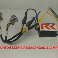 Murah Lampu Led Motor Supra X 125 (H6 Led + Cvdc) Di Jamin