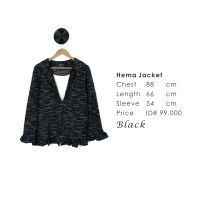 HEMA JACKET - outwear - House Of Shopaholic