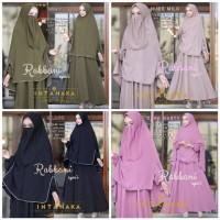 Baju Muslim Gamis Syari Pesta Wanita Rabbani Ori Intanaka Terbaru