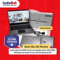 Laptop Zyrex Sky 232 Extreme 14 Inch Intel Cel N3350/3GB/32eMMC/Win10