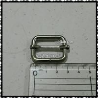 12 Piece Ring Jalan Kotak Untuk Tali Tas 2,5cm Warna Silver Nikel