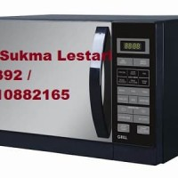Microwave SHARP R-728(K)IN (Warna HITAM, Bisa Grill/Panggang)
