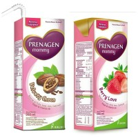Prenagen mommy uht coklat & strawbery 200ml