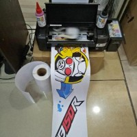 Mesin Printer Sticker Vinyl Inkjet A4 Epson Tinta Artpa Paling Laris