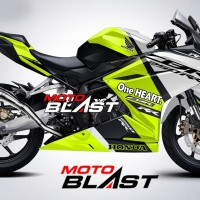 Decal Stiker Honda CBR250RR livery Black Freedom Sport FULLBODY