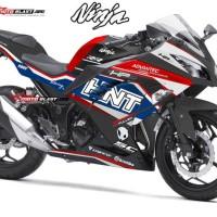 Decal stiker Ninja 250R FI BMW Racing FULLBODY