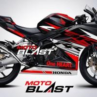 Decal Stiker Honda CBR250RR livery Black Freedom Slash Re