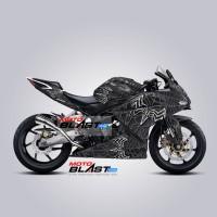 Decal Stiker Honda CBR250RR livery Black Spider 2018