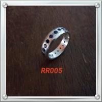 Handmade Cincin Bahan Silver 925 Jogja Motif RR005