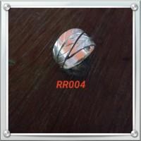 Handmade Cincin Bahan Silver 925 Jogja Motif RR004