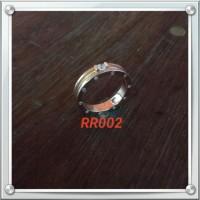 Handmade Cincin Bahan Silver 925 Jogja Motif RR002