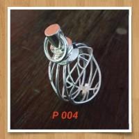 Handmade Pendan Liontin Bahan Silver 925 Jogja Motif P004