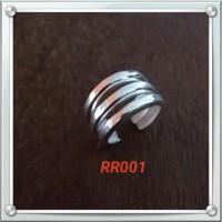 Handmade Cincin Bahan Silver 925 Jogja Motif RR001