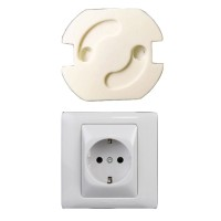 BEST SELLER --- SAFETY SOCKET PLUG LISTRIK EU SPRING STYLE - ZC6001 -