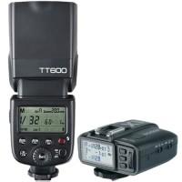 Godox TT600 Universal Flash Speedlite + X1T Trigger For Canon