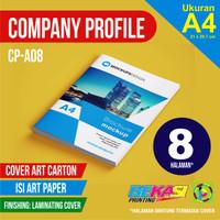 CP-A08 Cetak Company Profile 8 Halaman