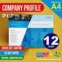 CP-A12 Cetak Company Profile 12 Halaman