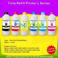 Tinta Refill Botol Printer Epson L805 L110 L210 L350 L800 L1300 L380 L