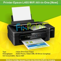 Ink Tank Printer Epson L405 Wireless All in One Print Scan Copy