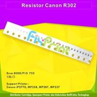 Resistor Canon R302 Error B200 P10 752 Printer IP2270 MP258 MP287 MP2