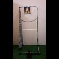 Kamar Pas Bongkar Pasang / Fitting Room Portable/Kamar Pas Dorong