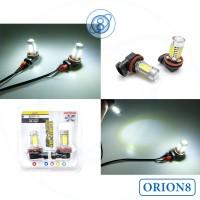 Foglamp H11 HPL 5 Sisi 7.5 Watt LED Terang Irit Listrik Putih - Putih