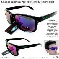 Kacamata sport okley point holbrook VR46-biru