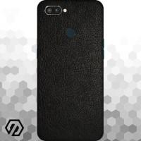 [EXACOAT] Realme 2 Pro Skin 3M Skin / Garskin - Leather Black