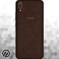 [EXACOAT] Vivo V11 | V11 Pro Skin / Garskin - Leather Brown
