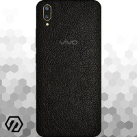 [EXACOAT] Vivo V11 | V11 Pro 3M Skin / Garskin - Leather Black