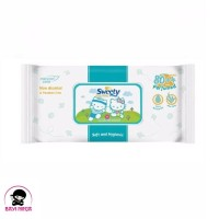 SWEETY Baby Wipes Tissue Perfumed / Farfum 80+4 s