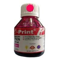 Tinta Refill (isi ulang) untuk Printer Epson Warna Merah 100ml