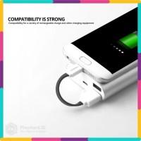 Harga fonken kabel charger micro usb 10cm khusus power bank fk mtx | antitipu.com