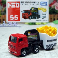 Tomica Reguler 55 Isuzu Giga Fried Potato Car